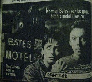 Bates Motel (film) - TV Guide advertisement, 1987