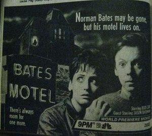 Bates Motel (film) - TV Guide advertisement, 1987
