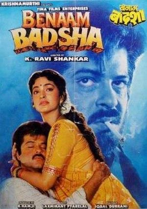 Benaam Badsha - movie poster