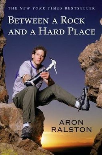 Between a Rock and a Hard Place (book) - Image: Between a Rock and a Hard Place Cover