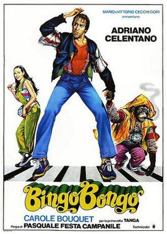 Bingo Bongo - Italian theatrical release poster by Renato Casaro