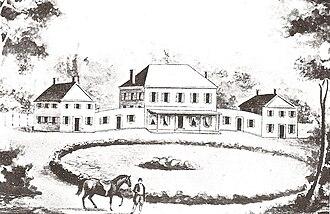 Blennerhassett Island Historical State Park - Image: Blennerhassett Island Home