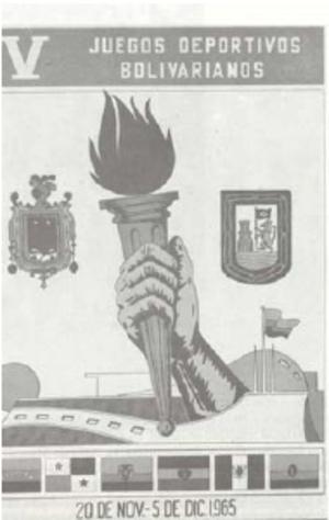 1965 Bolivarian Games - Image: Bolivarianos 1965