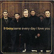 Boyzone — Every Day I Love You (studio acapella)