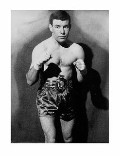 Brian Curvis Welsh boxer