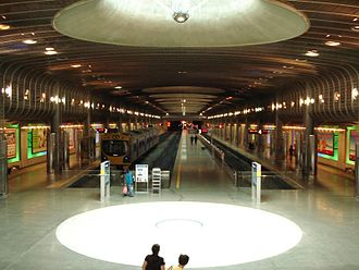 Britomart Transport Centre - The underground train terminus prior to electrification