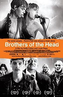 <i>Brothers of the Head</i> 2005 film