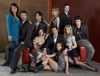 Canal Road (TV series) - The cast of Canal Road.