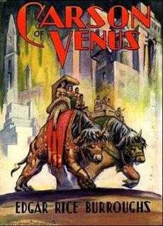 <i>Carson of Venus</i> 1939 Book by Edgar Rice Burroughs
