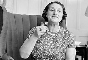 Caryl Brahms - Caryl Brahms in her later years