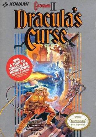 Castlevania III: Dracula's Curse - North American box art
