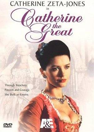 Catherine the Great (1995 film) - DVD cover, featuring Catherine Zeta-Jones