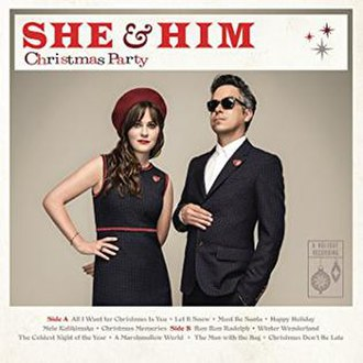 Christmas Party (She & Him album) - Image: Christmas Party SH