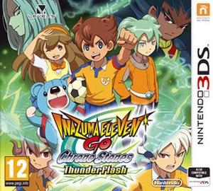 Inazuma Eleven GO 2: Chrono Stone - Image: Chrono Stone Thunderflash