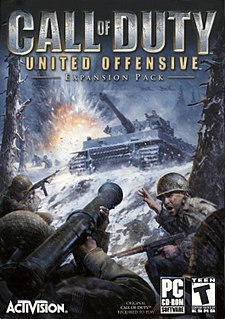<i>Call of Duty: United Offensive</i> video game