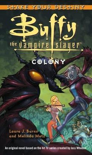Colony (Buffy novel) - First edition cover