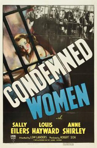 Condemned Women - Theatrical release poster
