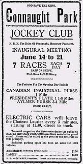 Connaught Park Racetrack racetrack in Aylmer, Quebec, Canada