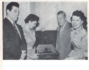 The Cook Family Singers - Second Generation Cook Family Singers, L to R Marshall Cook, Clair Cook, Marvin Cook and Betty Cook