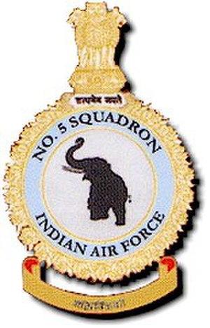 No. 5 Squadron IAF - Image: Crests 05
