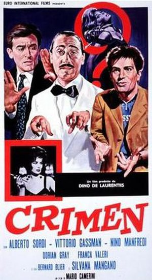 Crimen (film) - Image: Crimen