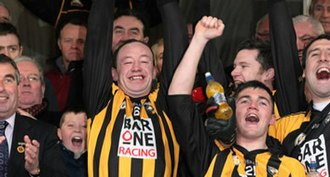 2008 Ulster Senior Club Football Championship - Crossmaglen celebrate winning the 2008 Ulster Club Championship
