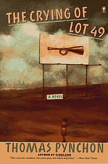 The Crying of Lot 49 - Wikipedia, the free encyclopedia