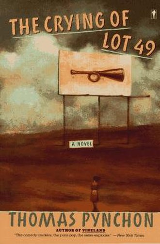 The Crying of Lot 49 - The Crying of Lot 49 book cover, featuring the Thurn und Taxis post horn
