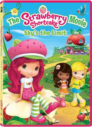 The Strawberry Shortcake Movie: Sky's the Limit - DVD cover
