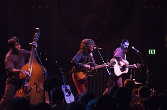 The Avett Brothers - The Avett Brothers at the Crystal Ballroom, Portland, Oregon, January 28, 2007