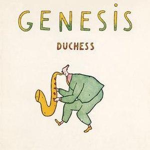Duchess (Genesis song) - Image: Duchess (Genesis single cover art)