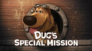 Dug's Special Mission - Title screen