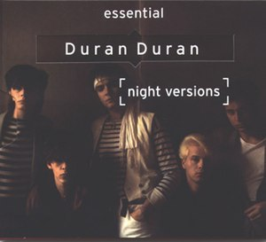 Night Versions: The Essential Duran Duran - Image: Duran duran night versions albumcover