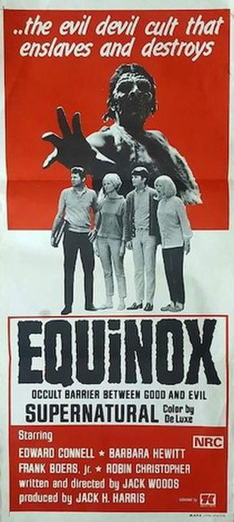 Equinox (1970 film) - DVD cover