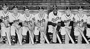 Evansville Braves - 1956 Evansville Braves.