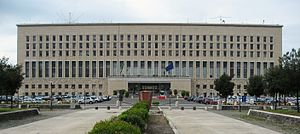Ministry of Foreign Affairs (Italy) - Palazzo della Farnesina, home to the Ministry of Foreign Affairs and International Cooperation