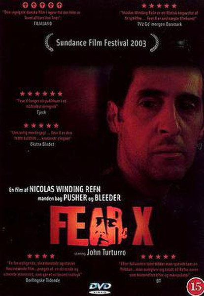 Fear X movie