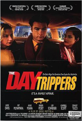 The Daytrippers - Theatrical release poster