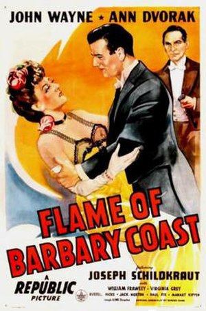 Flame of Barbary Coast - Image: Flame of Barbary Coast Film Poster