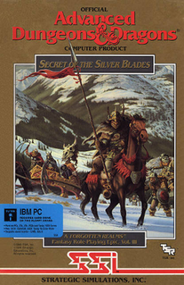 <i>Secret of the Silver Blades</i> 1990 video game