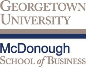 McDonough School of Business - Image: GU MSOB.vert RGB