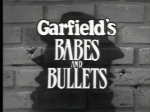 Garfield's Babes and Bullets - Garfield's Babes and Bullets title card