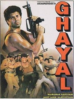 <i>Ghayal</i> (1990 film) 1990 Indian Hindi action film directed by Rajkumar Santoshi