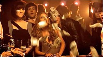 "Good Girls Go Bad - Cobra Starship and Leighton Meester in the music video for ""Good Girls Go Bad"""