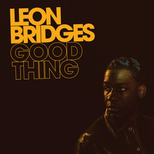 Image result for leon bridges album cover.