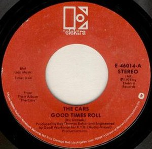 Good Times Roll - Image: Good Times Roll single label