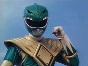 Tommy Oliver - Tommy as the Green Power Ranger.