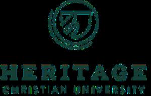 Heritage Christian University - Image: HCU logo 2016 linear text green