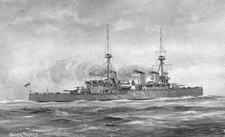 HMS <i>Indomitable</i> (1907) 1907 Invincible-class battlecruiser of the Royal Navy
