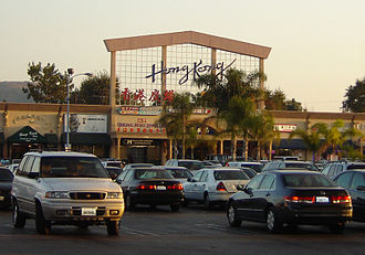 Chinese enclaves in the San Gabriel Valley - Hong Kong Plaza in Rowland Heights, California